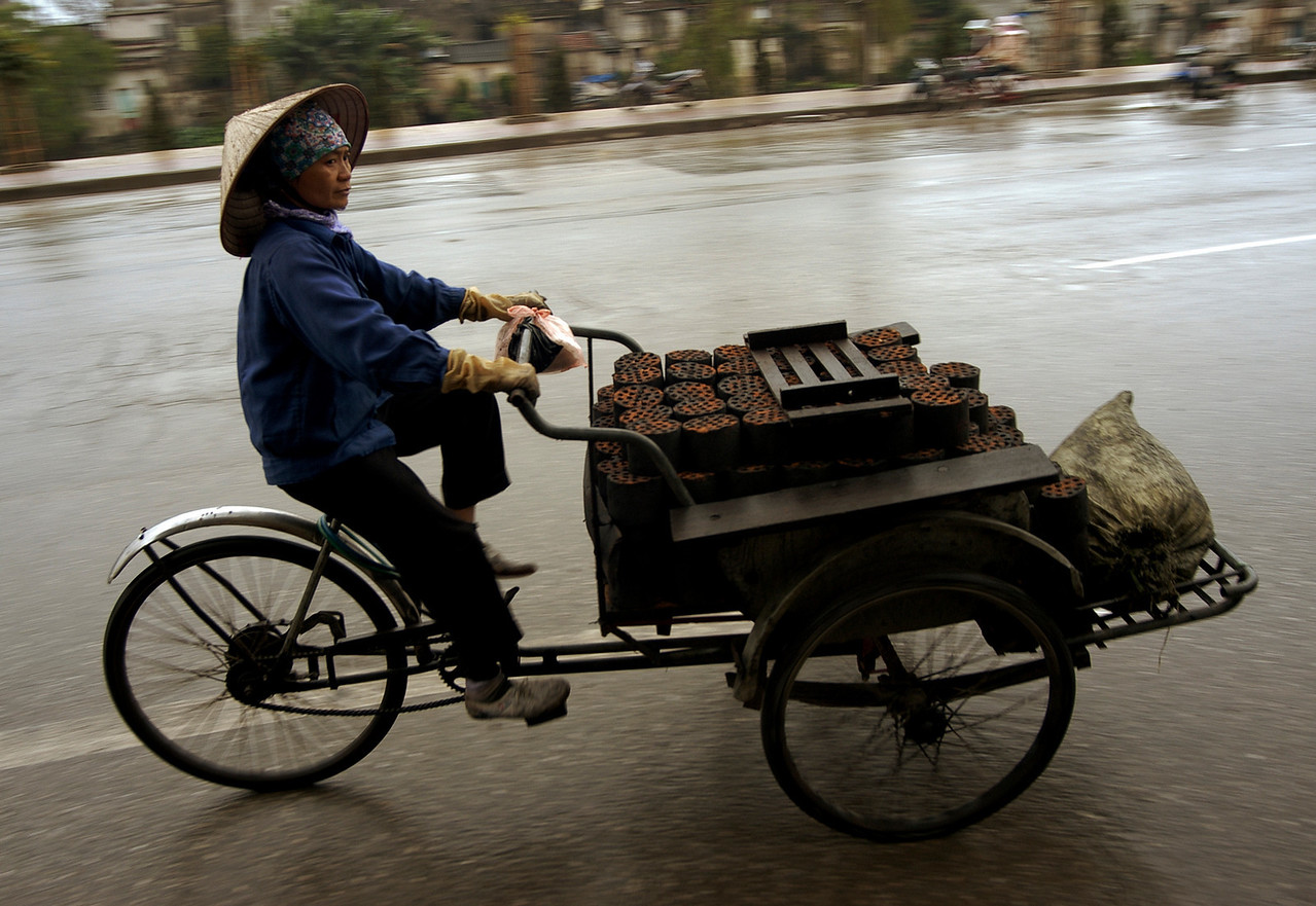 Industrial transport Vietnam style,