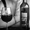 Enjoying a bottle of their Sauvignon at Sunset Hills Vineyard, Virginia. Kodak Tri-X,  2014.