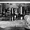 One of the fermentation rooms at Sunset Hills Vineyard, Virginia. Kodak Tri-X,  2014.
