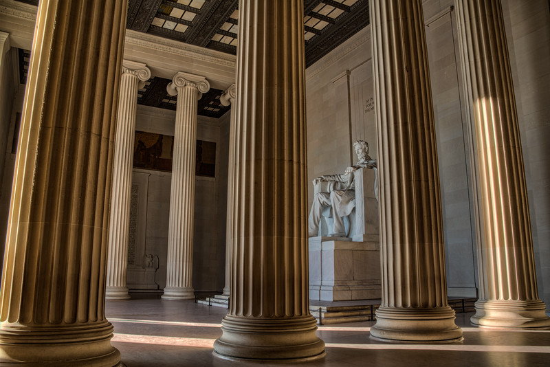 Lincoln Memorial Pillars