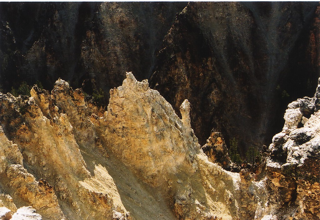 Canyon Ridges<br /> Grand Canyon of the Yellowstone