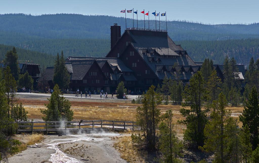 The Old Faithful Inn<br /> 2015