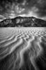 Textures in sand, Kluane