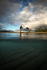 Photographing underwater view, Kluane