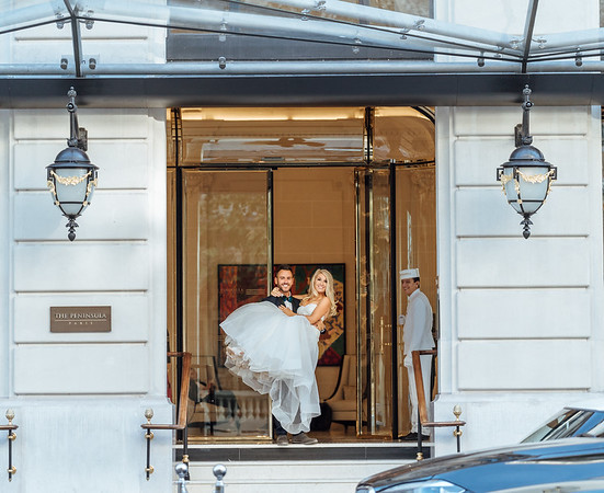 A Dream Honeymoon | The Peninsula | Paris, France