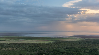 Lake Manyara at sunset