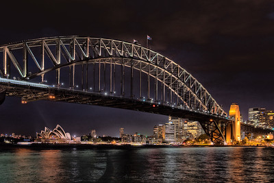 Harbour Bridge and the Opera House, Sydney