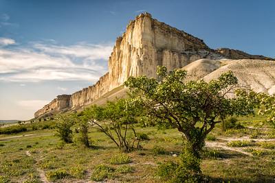 Aq Qaya (White Rock)