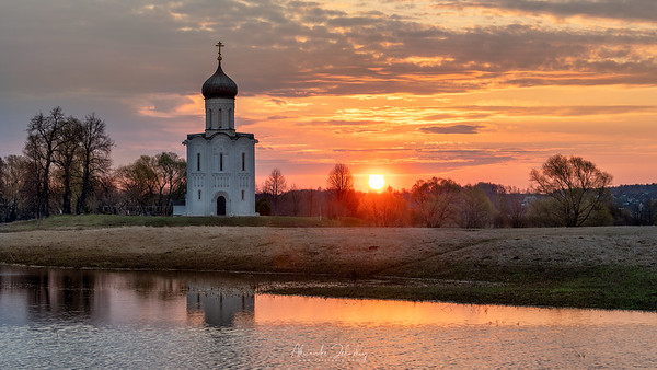 The Church of the Intercession of the Holy Virgin on the Nerl River
