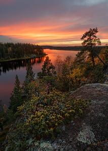 Evening on Ladoga