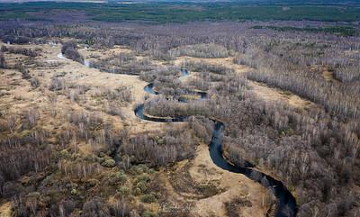 Bends of River Kolp aerial