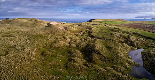 Scotland, 2017. Drone pano from 132 m