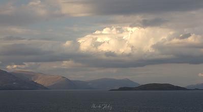 Approaching Isle of Arran