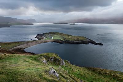 Tombolo, Loch Eribol