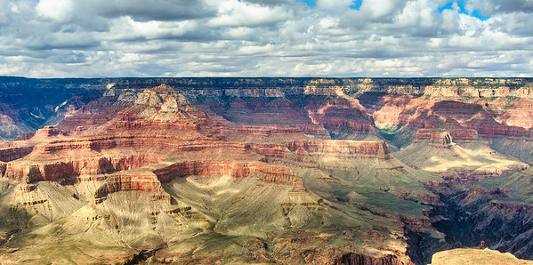 Grand Canyon from helicopter. Grand Canyon National Park, Arizona, USA