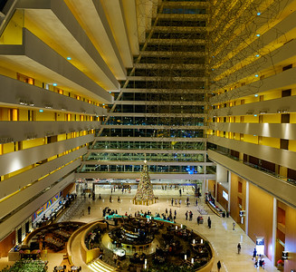 Inside view of Marina Bay Sands hotel