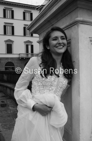 1965 French Wedding Dress Wedding Day