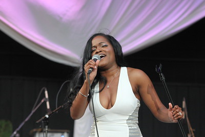 Destinee Maree performs live at the Dell Music Center in Philadelphia, PA