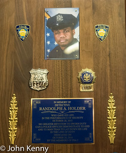 Det. Randolph Holder Memorial 10/20/16