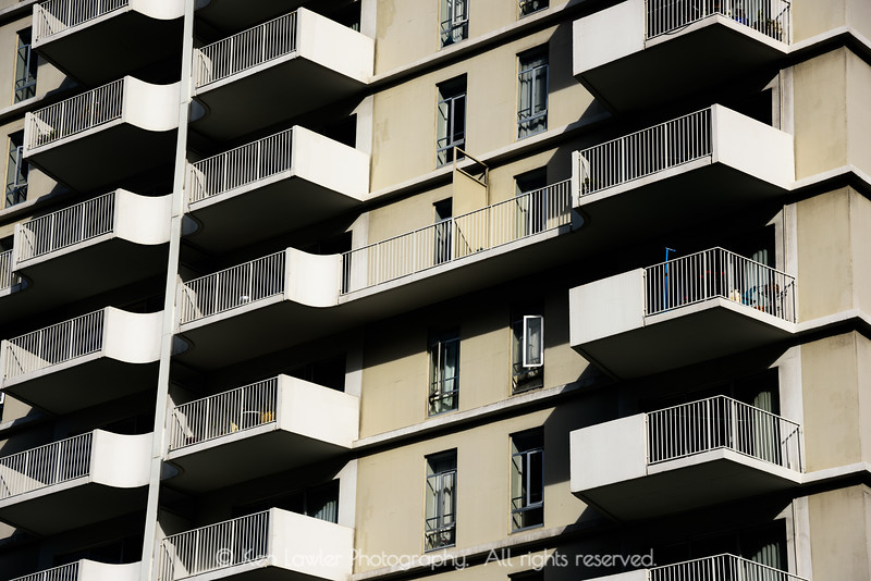 Balconies and shadows