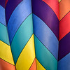Colorful balloon detail