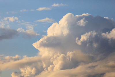 "CLOUDS 2708  ""Evening Thundercloud"""
