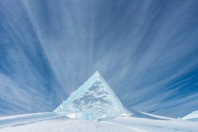 "ICE 04916  ""Pyramid of Ice"""
