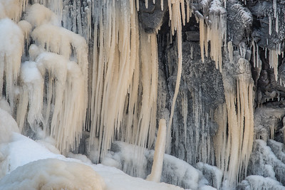 "ICE 5420  ""High Falls Ice Detail""  Grand Portage State Park, MN"