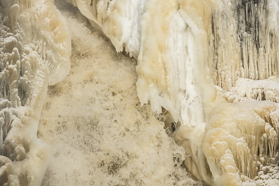 """ICE 07243  """"Pigeon River Ice Flume""""  Grand Portage State Park, MN"""