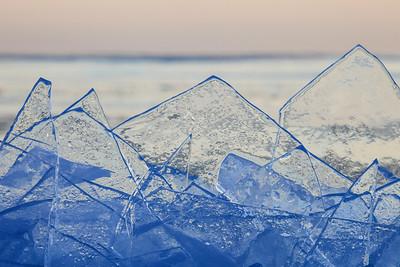 """ICE 0809  """"Plate Ice Mountain Range"""""""