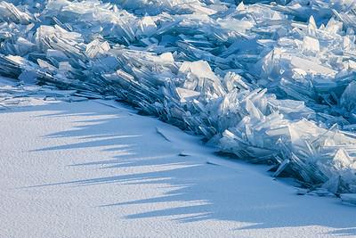 "ICE 1824  ""Ice Shadows""  Tettegouche State Park, MN"