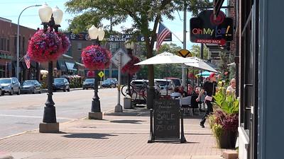 Downtown Brighton, Michigan