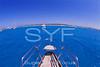 Sailing yacht pulpit
