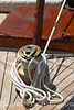 Yacht detail,winch