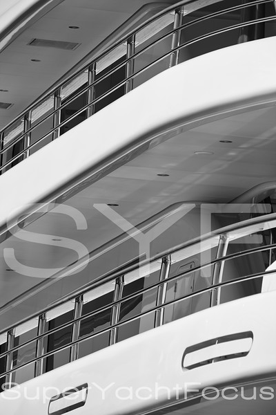 Superyacht detail