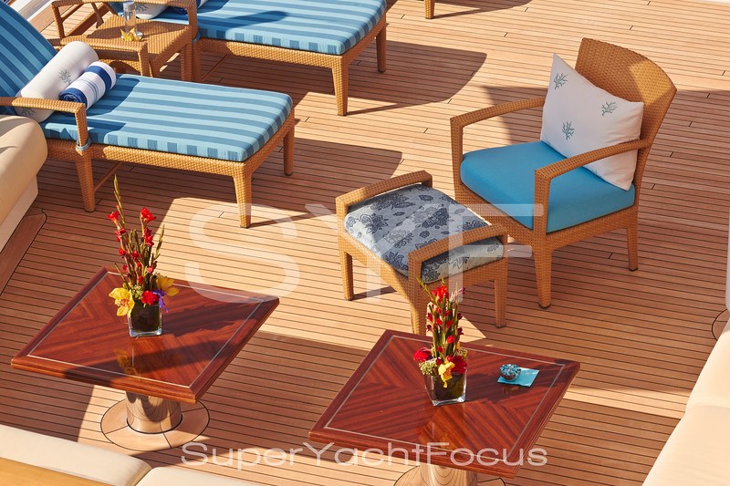 Yacht detail, deck