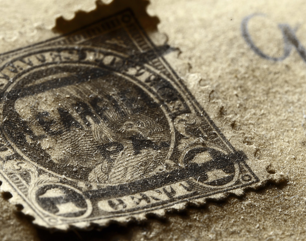 One Cent Stamp