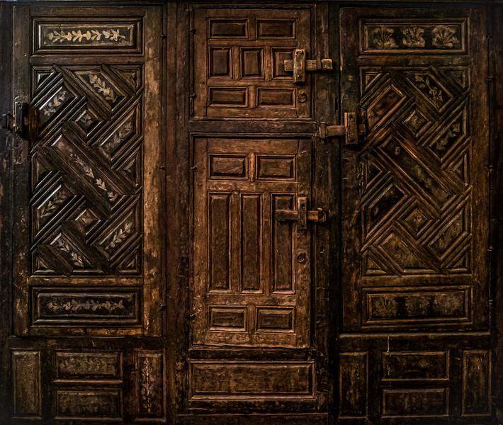 Old cupboard doors, Cairo