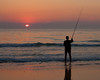 Surf Fishing at Sunrise
