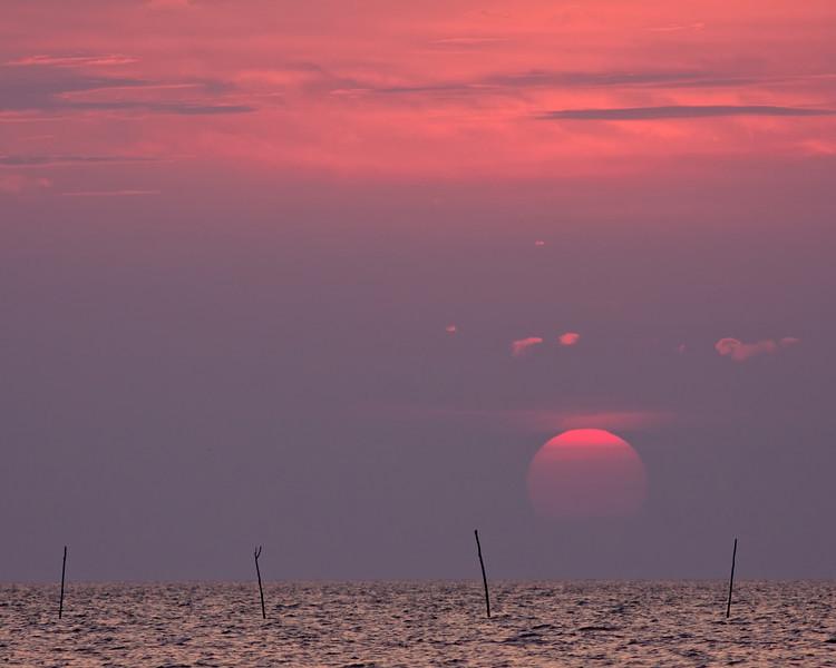Last Light on Roanoke Island