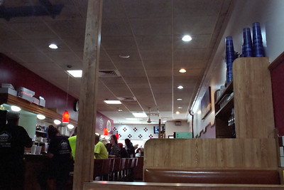 Inside of Woodward Coney Island