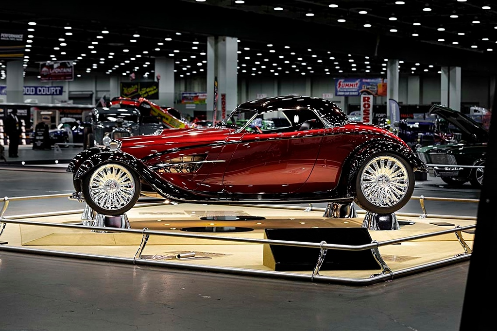 . The 2017 Detroit Autorama Ridler Award Winner owned by Billy and Debbie Thomas.