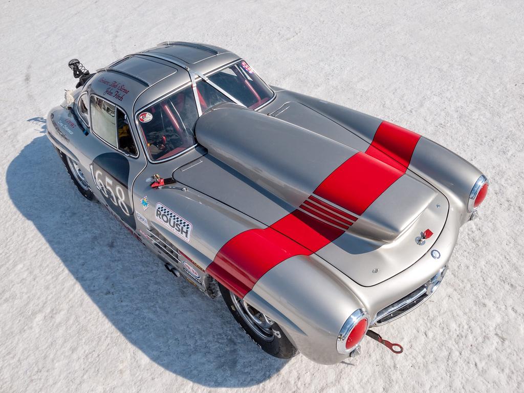 . Bob Sirna\'s 1955 Mercedes Benz 300 SL.
