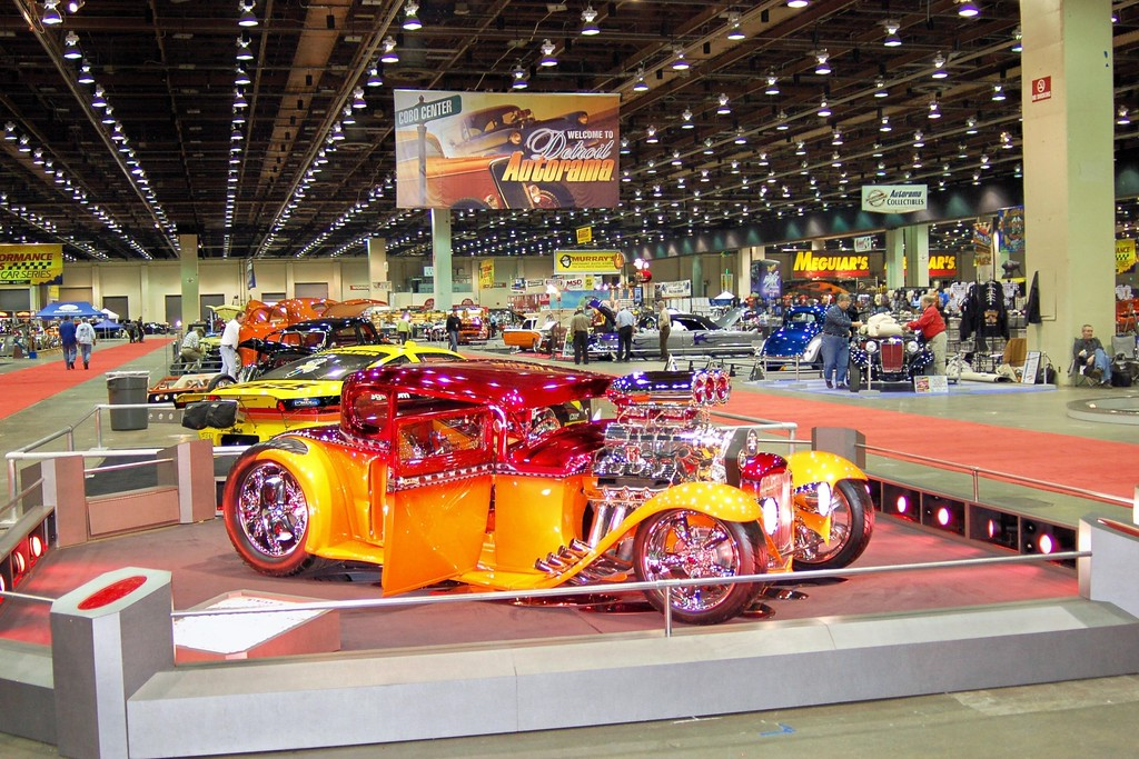 . Hot rods and more will roar into Cobo Center during Meguiar\'s Detroit Autorama on March 2-4.
