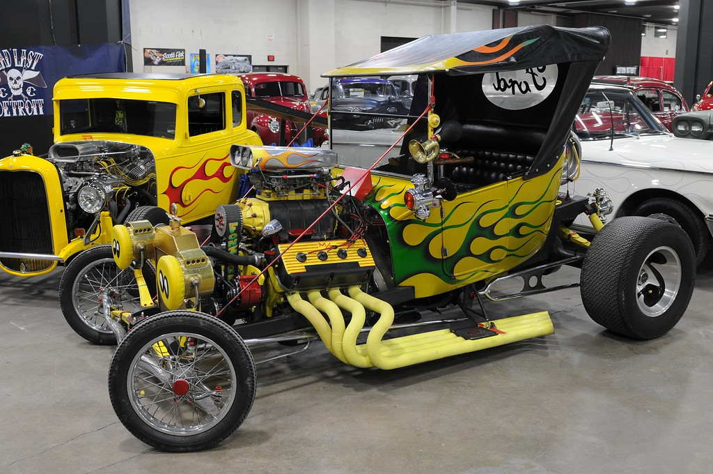 . You never know what kind of car you might see at Autorama.
