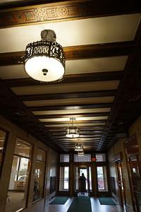 Side hallway off the main lobby.