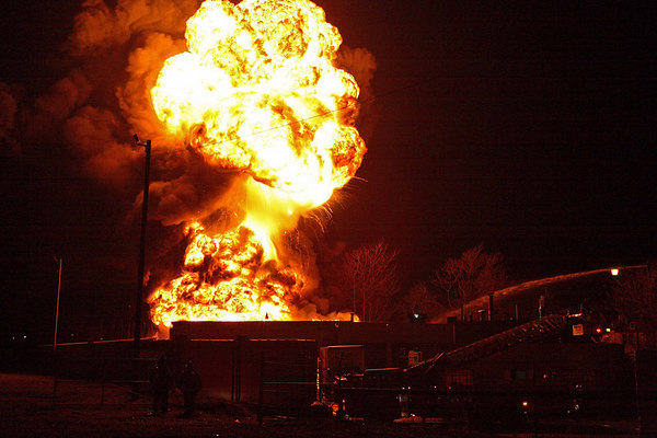 Detroit 2nd Alarm Chemical Plant With Video