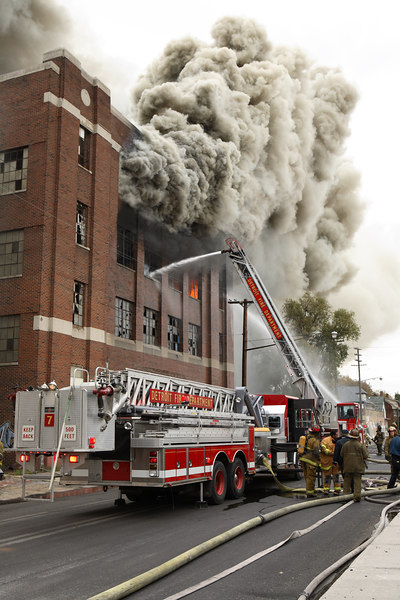 Detroit 2nd Alarm and other workers from my October trip