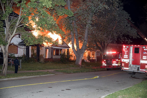 Detroit Commercial Box Alarm Mark Twain and Intervale
