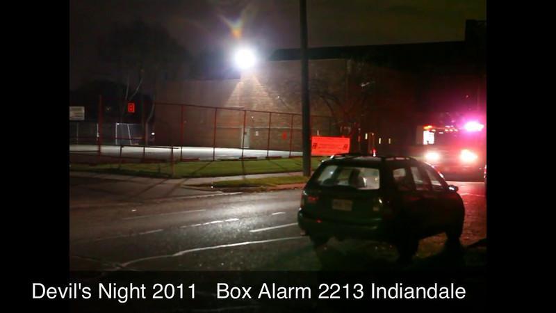Devil's Night Detroit 2011